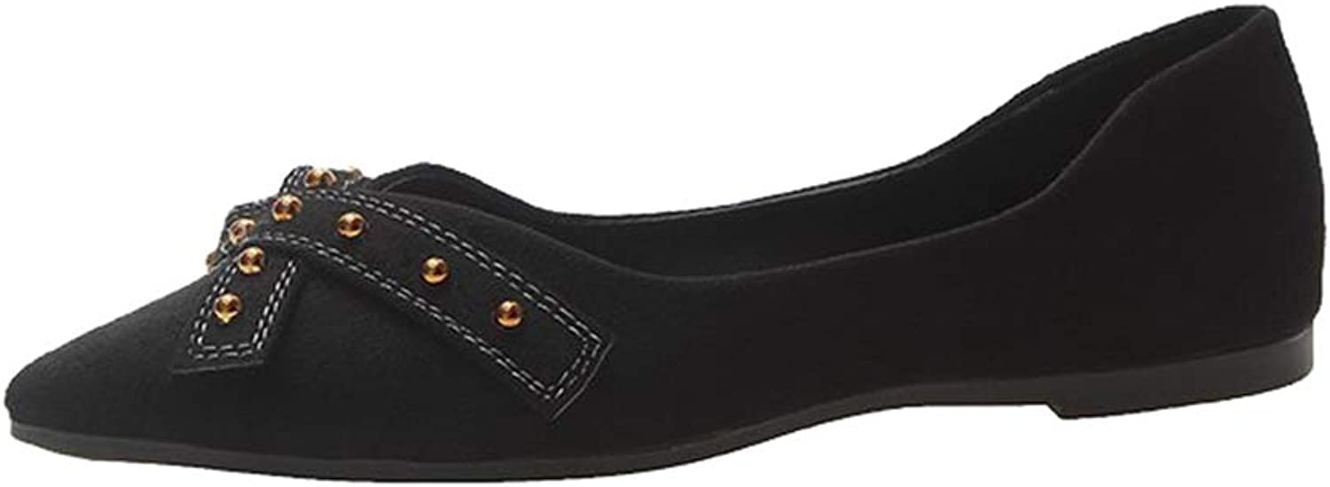 Women Flats shoes Pointed Toe Slip-On Comfort Casual Flats shoes