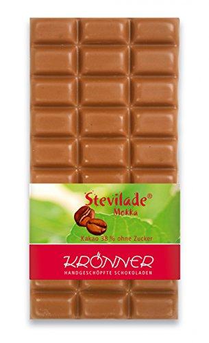 Krönner Stevilade Mokka 38% / 100g Tafelschokolade