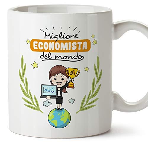 MUGFFINS Tazza Economista (Migliore del Mondo) - Idee Regali Originali...