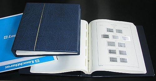 Leuchtturm SF Vordruckalbum Europa CEPT 1956-1979 im blauen Schraubbinder