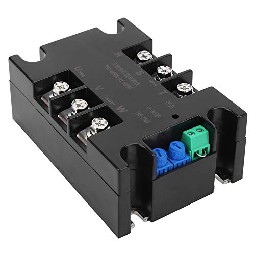 Motor trifásico Módulo de arranque suave Controlador Relé Ajuste de salida lineal para termostato Gabinete de interruptor de horno eléctrico para lograr el control(#1)