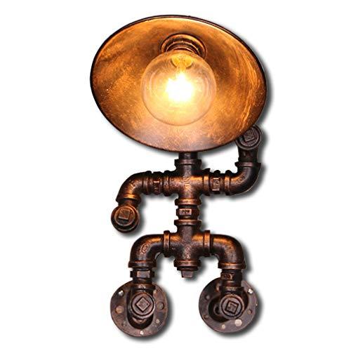Applique Edison tube applique murale Industriel vintage éclairage LED Rétro lampe pour cuisine Salon Salle à manger Restaurant Sous-sol Sous-sol Fer à repasser Lampe à tubes E27 Lampe de couloir Balco