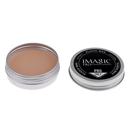 Bonarty Kit De Maquillage Naturel Halloween Modélisation Mastic/Cire Maquillage Cicatrice Nude Couleur Blessure Cicatrice Maquillage Cire Stade Peinture De - # 3, 2,24 x 0,87 pouces