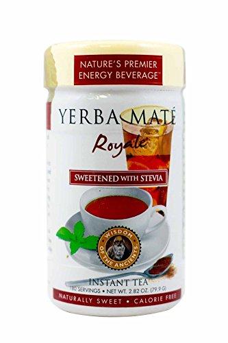 WISDOM OF THE ANCIENTS La saggezza del Mate Antichi Yerba Royale tè, istantaneo, 2.82 Oncia (confezione da 4)