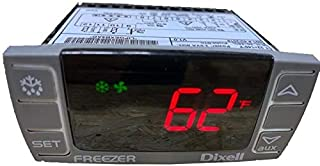Dixell Temperature Controller XR06CX-4N1F1 Programmable-Commercial Refrigeration, for Freezer 120V