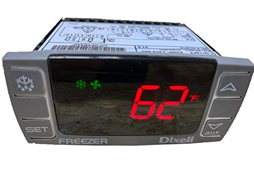 Dixell Temperature Controller XR06CX-4N1F1 Programmable-Commercial for Freezer 120V