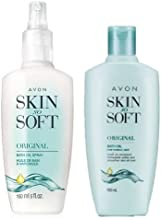 Avon Skin So Soft Original Oil 5oz with Pump + REFIL Bottle 5 oz