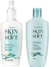 Avon Skin So Soft Original Oil 5oz with Pump + REFIL Bottle 5 oz
