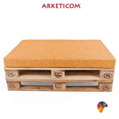 Arketicom Housse Revetement pour Coussin Assise Palette Polycoton zippè Matelas Banquette 60x80x10