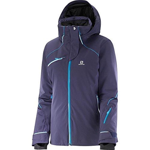 SALOMON Speed JKT W - Jacke für Damen, Farbe Grau, Größe S