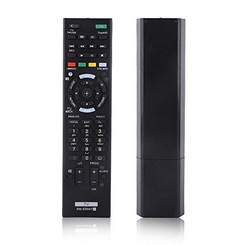 Control Remoto, Control Remoto de Moda para Sony, Mayor Distancia de transmisión Reemplaza Perfectamente el tamaño Compacto para Uso General de Oficina en casa