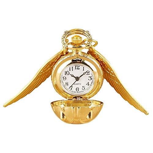XIAOJIAN Reloj de bolsillo exquisito: Reloj de bolsillo, flores de rosa de bronce antiguo Cubierta de flores de cinco puntas Cubierta floral Ratán Hollow Collar Colgante CollectionComodity Código: LXJ