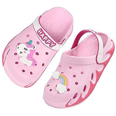 Weweya Cute Sandals Garden Clog for Boys Girls Toddler