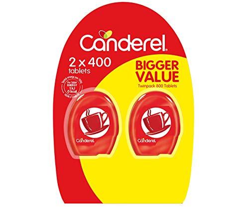 Canderel Original Sweetener Tablets Dispenser Value Pack - 800 Tablets