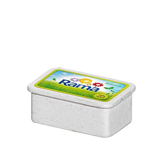 5 Stück Erzi Margarine Rama, Spielzeug-Margarine, Holz-Margarine, Kaufladenzubehör