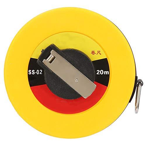 4 tipos de cinta de fibra de vidrio, reglas suaves, medición del sitio, herramienta de medición de topografía de edificios(20m / 65.6ft)