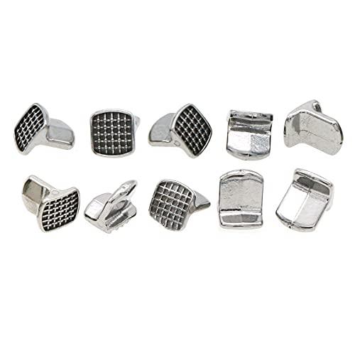 Pinlid Orthodontic MIM Bite Turbos 10Packs (MIM Bite Turbos, Metal)