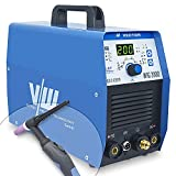 Máquina de soldadura Tig con 200 amperios y función de soldadura por electrodo de 170 amperios | Función de pulso - preflujo y postflujo de gas - subida y bajada de corriente de Vector Welding