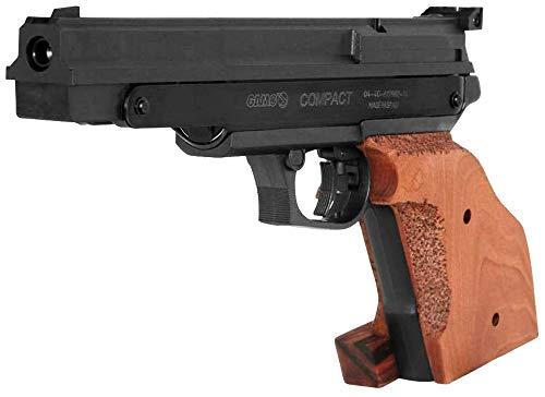 Tiendas LGP - Pack Pistola perdigón Gamo Compatc 4,5 mm. Carga Manual (no Necesita Botellas de Gas Co2). + Maletín + 250 Balines