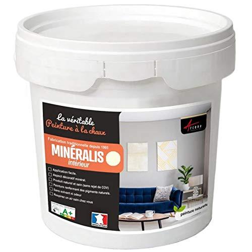 Matices minerales de cal – Pintura de cal natural para dec