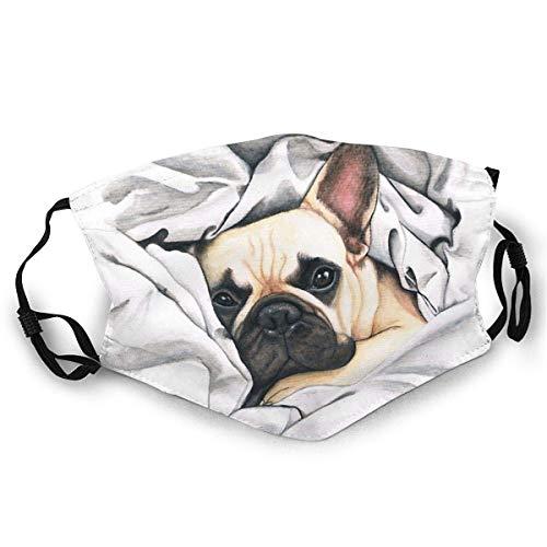 Mundschutz Französische Bulldogge @Miudafrenchie Gesichtsschutz