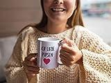 TassenTicker – Ich Liebe Pupsen – Kaffee/Tee/Becher/lustig/Arbeit/Büro/Kollegen/Chef/Geschenk/ – Hochwertige beidseitig Bedruckt - 5