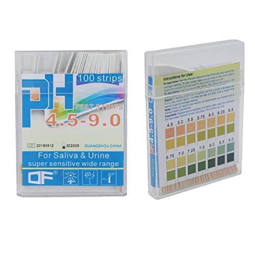 sdfghzsedfgsdfg Messwerkzeugstreifen Pack PH-Teststreifen PH-Messgerät PH-Controller Bereichsanzeige Lackmuspapier Wasser-Beruhigungsset