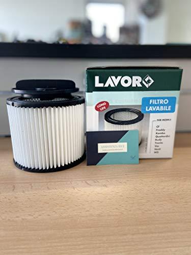 FILTRO LAVABILE LAVOR-LAVORWASH ORIGINAL COD. 5.212.0155 PER ASPIRATORI VAC, CF, VENTI, TRENTA, FREDDY, KOMBO, QUATTORDICI, RUDY E WD