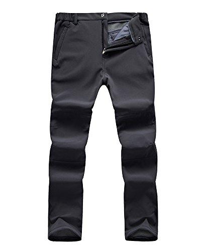 Jessie Kidden Ski Pants Men Softshell Fleece Lined Waterproof Windproof Hiking Hunting Insulated...