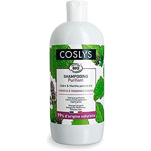 Coslys Shampooing Cheveux Gras a la menthe poivree bio