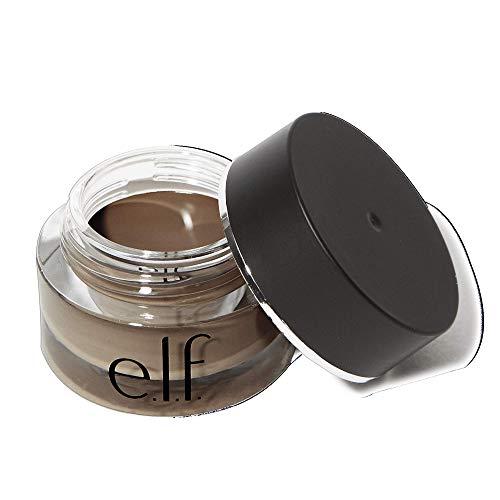 e.l.f. Lock On Liner And Brow Cream, Lines Eyes & Defines Eyebrows, Espresso, 0.19 Oz (5g)