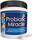 NUSENTIA Probiotic Miracle Dog Probiotics for Dogs (Up to 360...