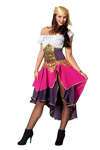 Damen Kostüm Zigeunerin Piratenbraut Karneval Fasching Gr.44