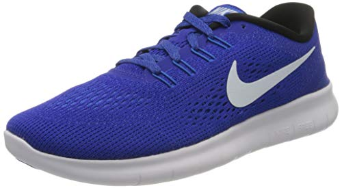 Nike Women's WMNS Free Rn Training Running Shoes, Blue (Concord/Hyper Cobalt/Photo Blue/White), 5 UK 38 1/2 EU