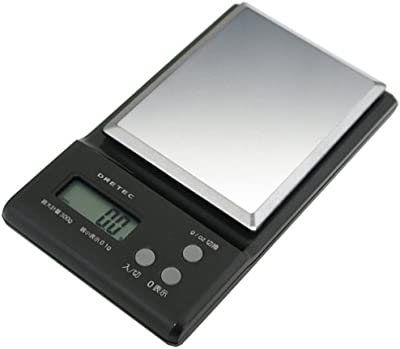 DRETEC ポケットスケール300PS-030BK