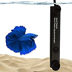 top 10 rena aquarium heater SunGrow Halfmoon Betta heater, 10 W, for small tanks, full submersible heater for aquarium, …