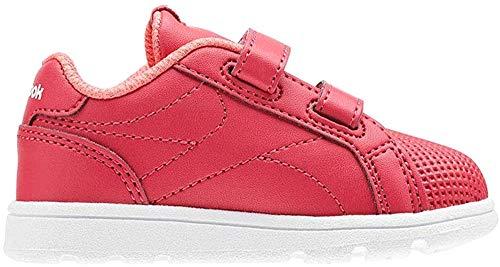 Reebok Royal Comp Cln 2v, Damen Hallenschuhe, Mehrfarbig (Rugged Rose/Victory Pink/White), 21.5 EU