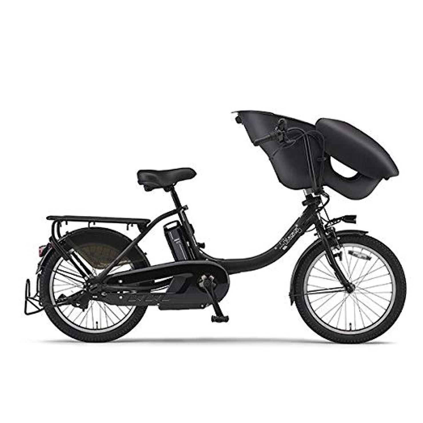 穀物剥離不変ヤマハ パス 電動アシスト自転車 PAS Kiss mini un マットブラック2 PA20KXL