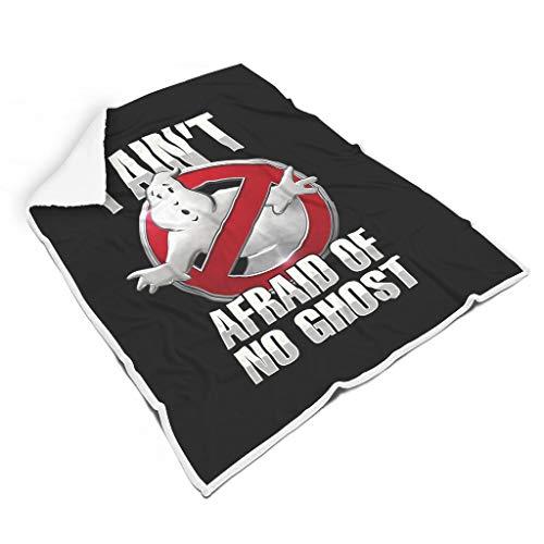 YxueSond Ghostbusters I-Aint-Afraid-of-no-Ghost-Bold-tekst-tshirt-Unique-tees woondeken super zachte kid bank sofa bed deken