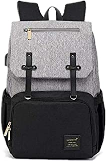 McDou Diaper Bag Backpack, Mastery Baby Maternity Nappy Changing Bags Multifunction Waterproof Travel Back Pack with Strol...