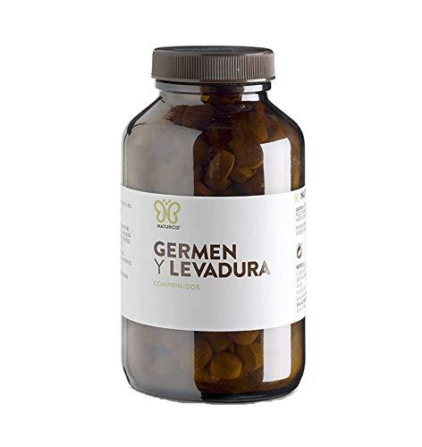 Germen y Levadura - Naturcid - Comprimidos - [300comp - 650mg] - 50% levadura nutricional inactiva, 50% germen de trigo.