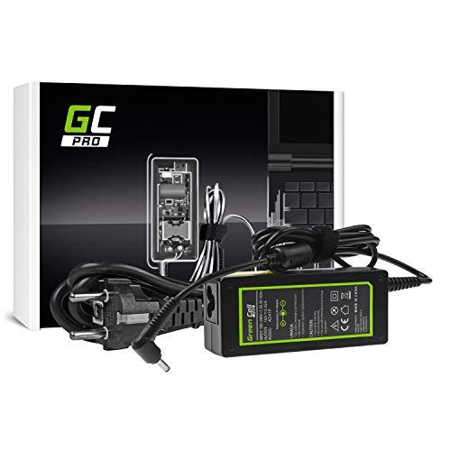 GC Pro Cargador para Portátil ASUS F553 F553M F553MA R540L R540S X540S X553 X553M X553MA ZenBook UX303L Ordenador Adaptador de Corriente (19V 3.42A 65W)