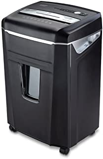 Aurora JamFree AU1400XA 14-Sheet Crosscut-Cut Paper / CD / Credit Card Shredder with Pull-Out Wastebasket