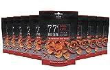Grillido Protein Chips | 77% Eiweiß Nur 9% Fett | Der Eiweißreichste Snack der Welt (Paprika & Chili), 10 x 25 g