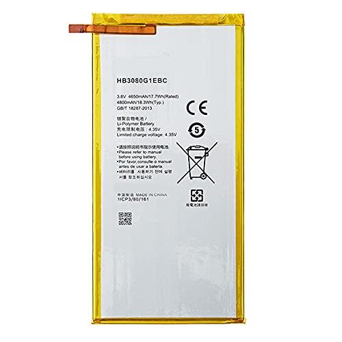HB3080G1EBW 4800mAh 18.3Wh Laptop Akku Ersatz für Huawei MediaPad M2 8.0 Inches M2-801L M2-801W M2-802L M2-803L with Tools