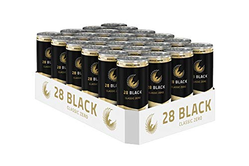 28 Black Classic Zero Zuckerfrei Energy Drink 24 x 0,25 ltr. inkl. 6€ DPG EINWEG Pfand