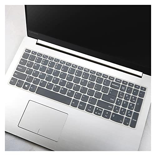 Película protectora para teclado Cubierta del teclado del cuaderno del ordenador portátil de silicona de 15.6 pulgadas para el protector de la piel ultrafino para impermeable Fácil de limpiar, resiste