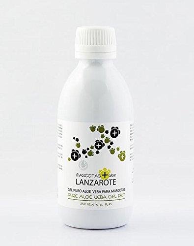 Aloe Lanzarote Gel pur à l'aloe vera pour animaux domestiques 250 ml