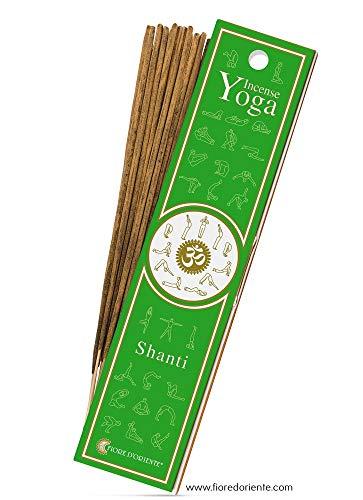 Fiore D'Oriente - 10x Bâtonnets d'encens Shanti Yoga