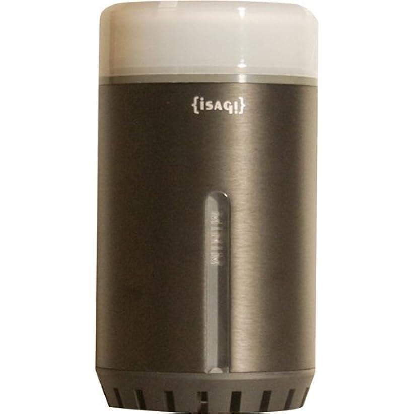 つぶやき組立ISAGI 超音波式アロマディフューザー MINIM ブラック